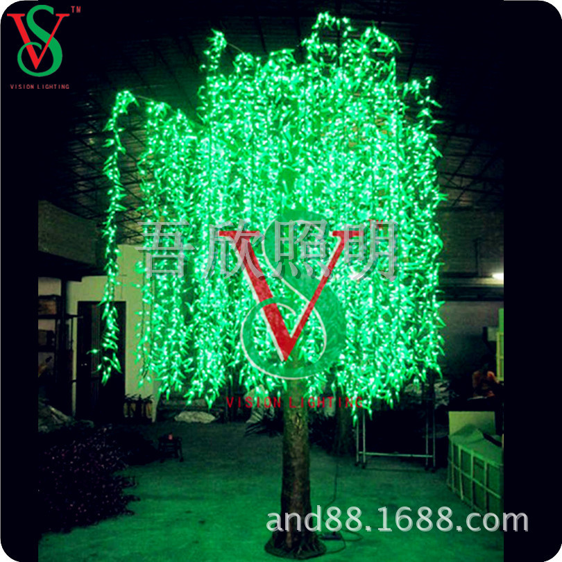 simulation tree lights willow tree lights