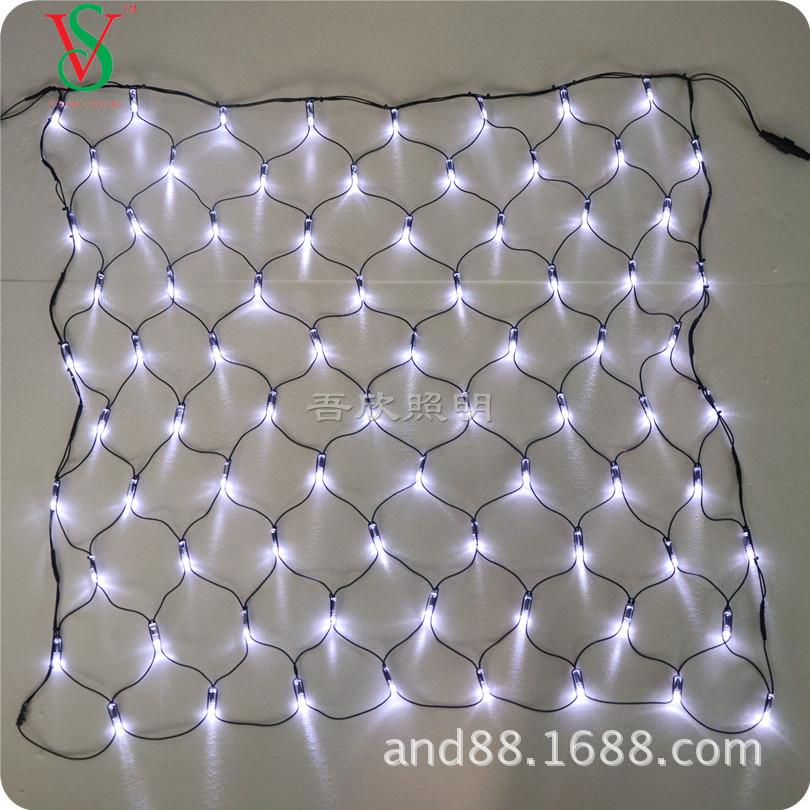 outdoor garland decoration led mesh net light