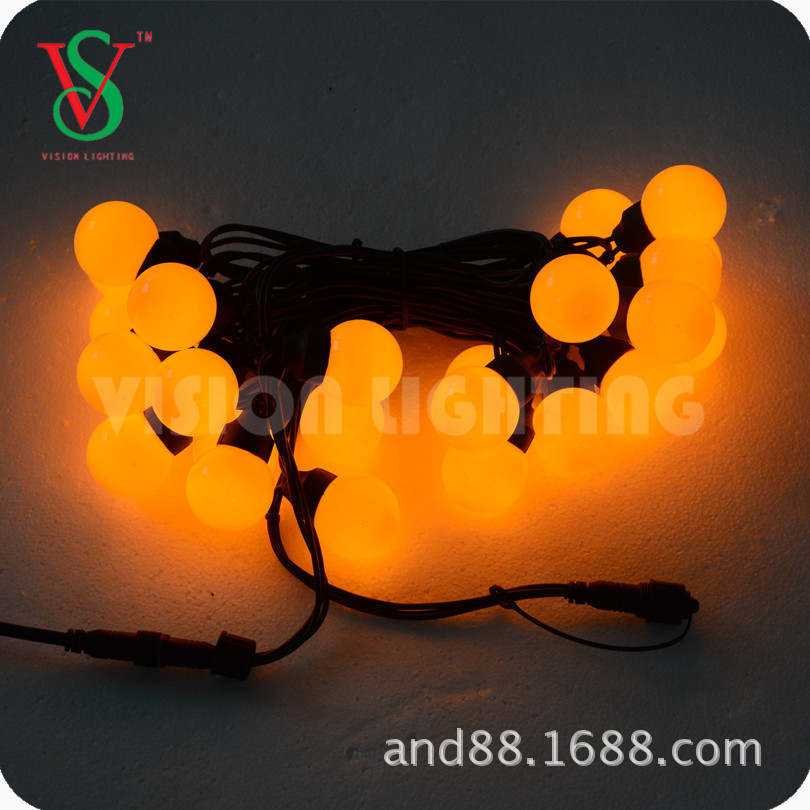 SMD ball string light for Christmas decoration
