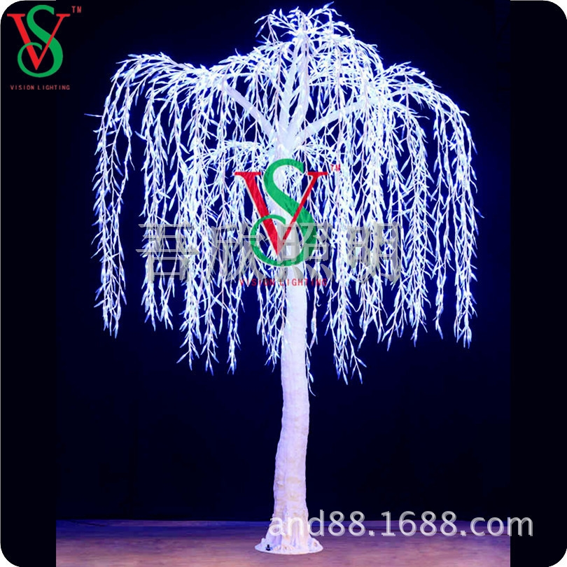high quality simulation tree lights willow tree