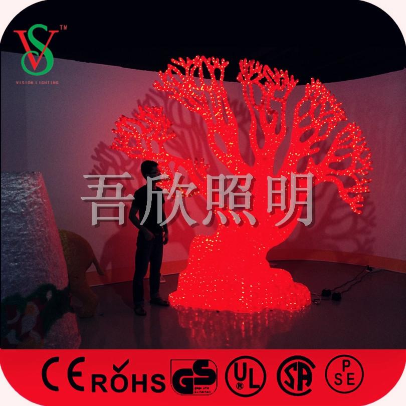 Christmas lights led acrylic Coral trees