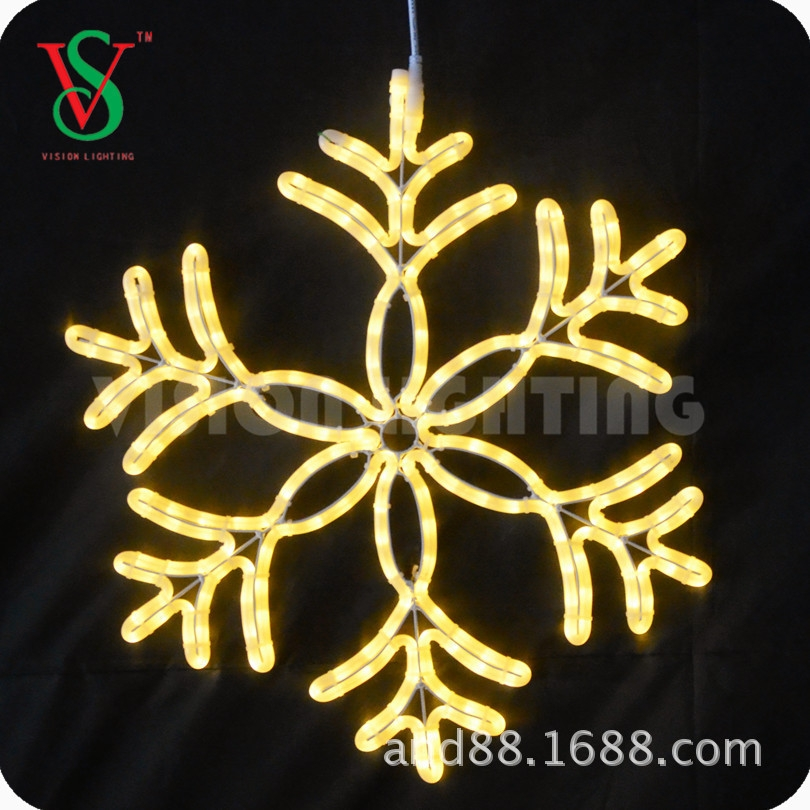 Indoor and Outdoor Decorative Led Christmas Snowflake Light