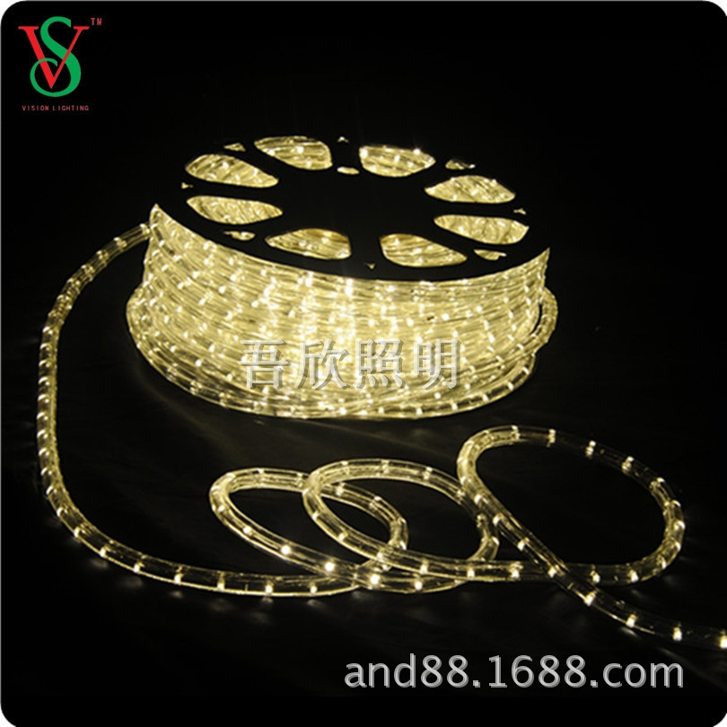 warmwhite color led rope light