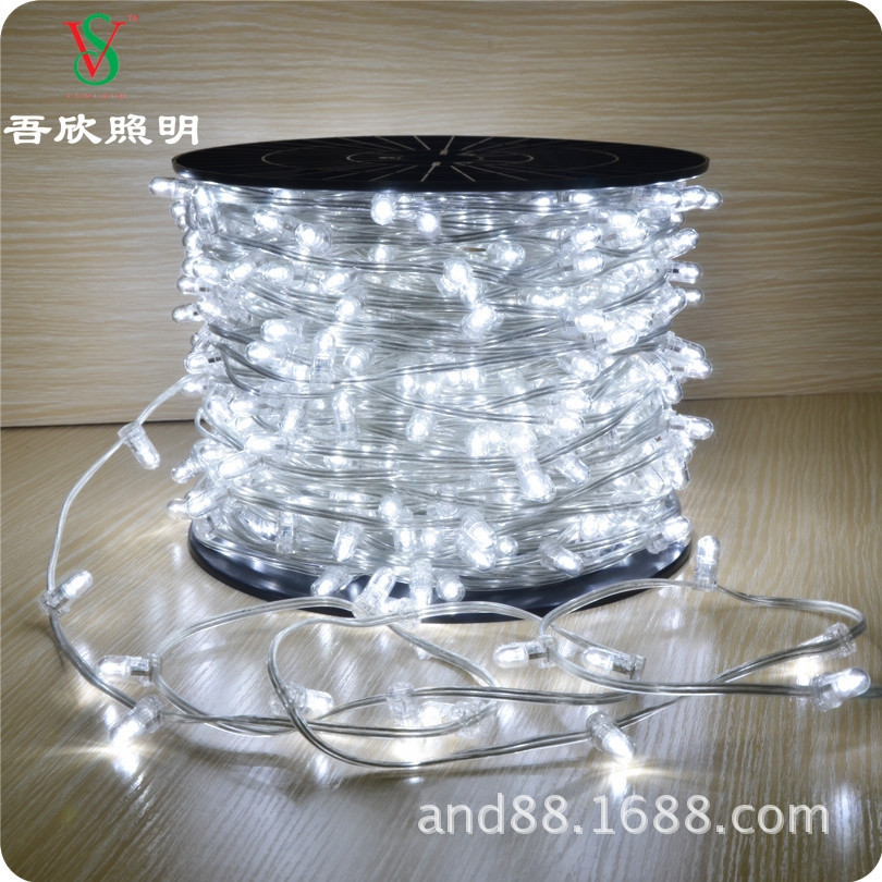 white color outdoor string light