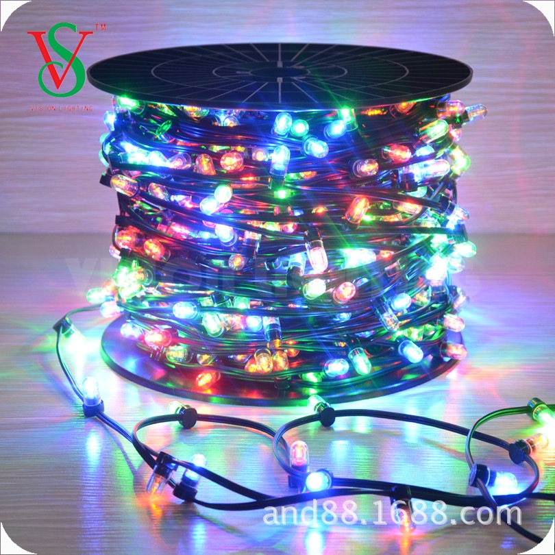 12V RGB outdoor led string light