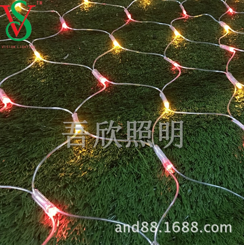 christmas decoration outdoor led net light