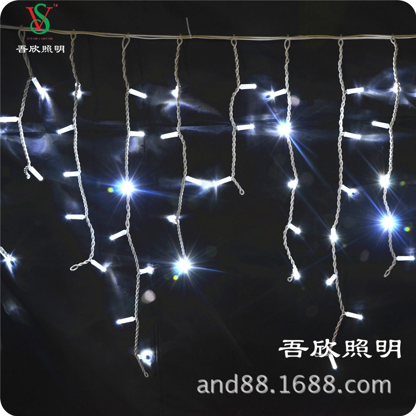 20x0.8M rubber cable icicle lights ice lights