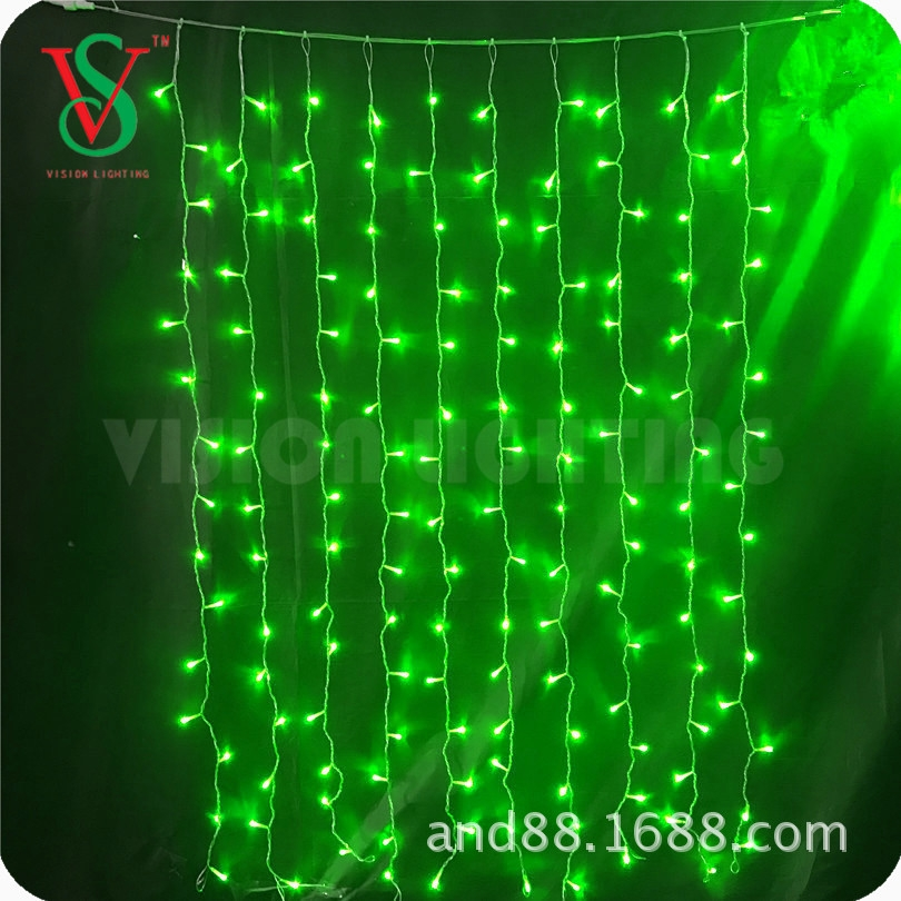 220V outdoor led curtain lights