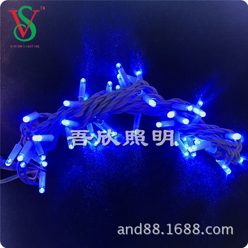 anti-UV rubber cable string light christmas lights