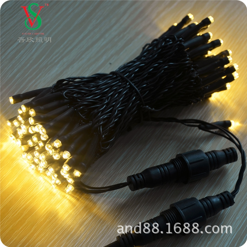 IP65 PVC cable led fairy string light outdoor