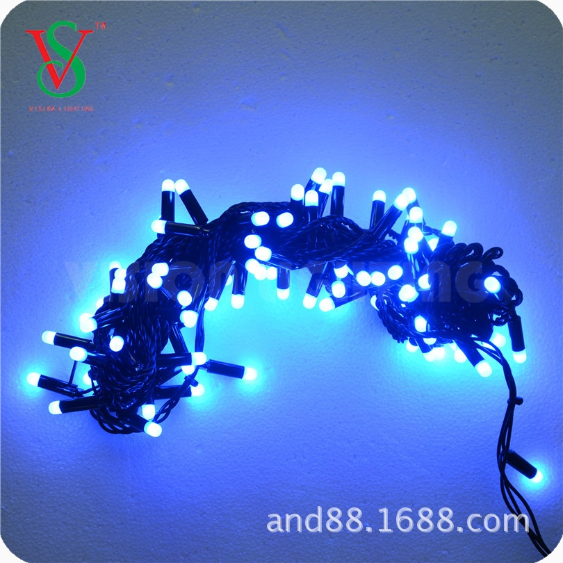 RGB color changing led string light with controller