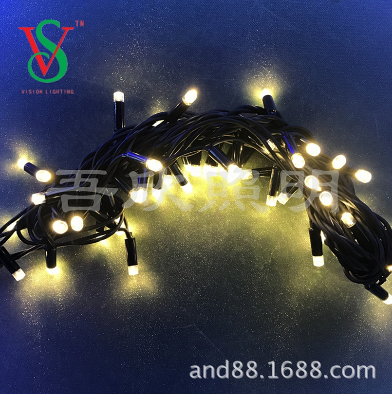 Rubber cable led fairy string light outdoor