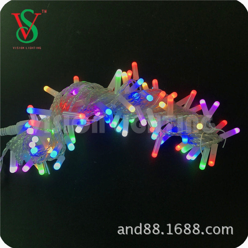 led RGB color led string light