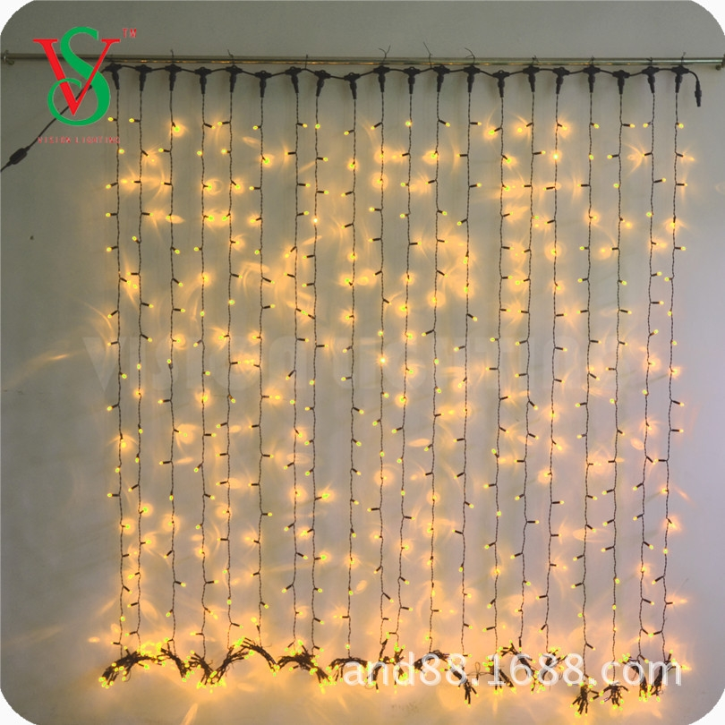 Factory whole sale curtain icicle lights