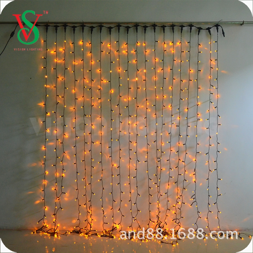 led curtain light waterproof outdoor decorative lights