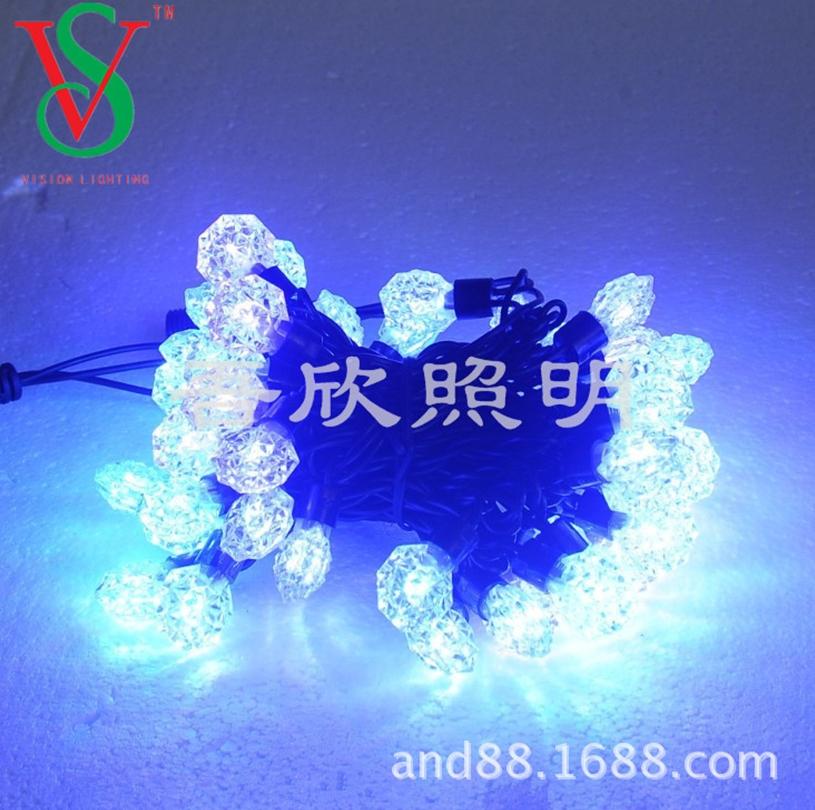 led christmas lights outdoor string lights
