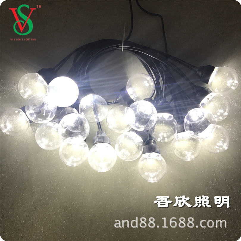 outdoor festival led fairy string ball light