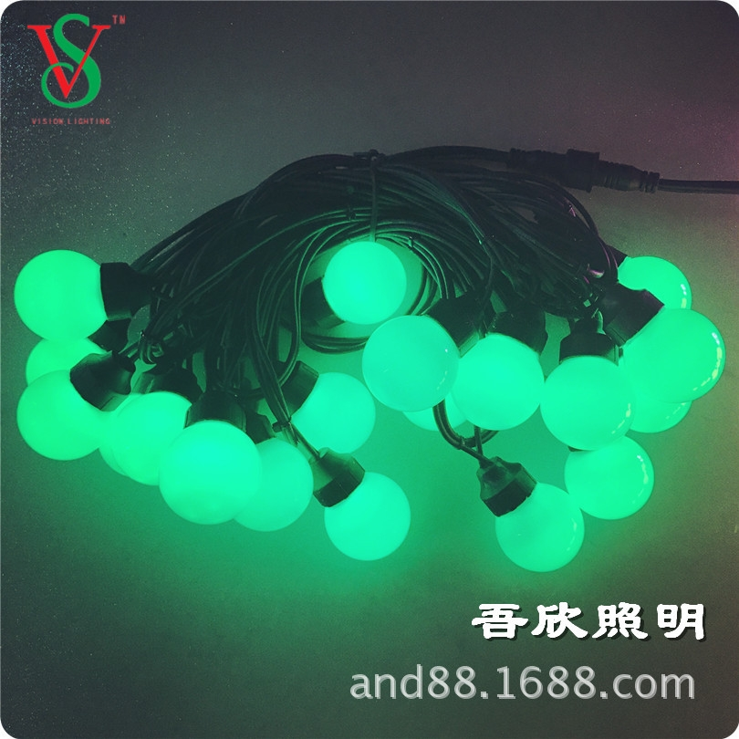 Christmas decorative SMD LED ball string lights